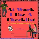 Special Education Transition Vocational At Work I Use a Checklist - Social Skill
