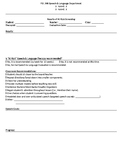 At risk screening results and plan progress note page