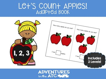 Let's Count Apples! Adapted Book