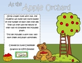 At the Apple Orchard: Apple Themed Tally Mark and Graphing Practice