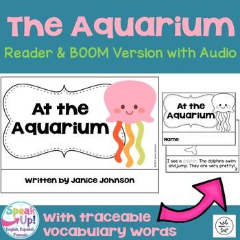 At the Aquarium ~ Marine Animal Reader & Sorting Page + BOOM™ Version with Audio