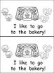 At the Bakery- Nonfiction Leveled Reader- Level B Kindergarten