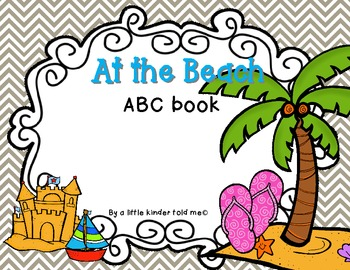 At the Beach ABC Book