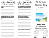 At the Beach: Abuelito's Story Trifold - Reading Street 5th Grade Unit 2 Week 1
