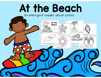 At the Beach - An Emergent Reader About Colors