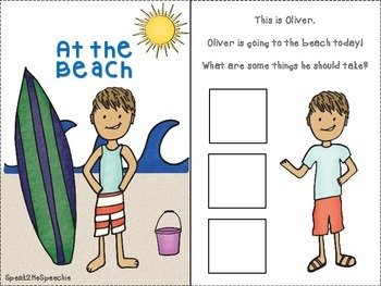 At the Beach! An Interactive Language Book.