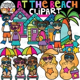 At the Beach Clipart {Summer Clipart}