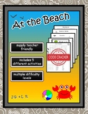 At the Beach - ESL/English Vocabulary Activities