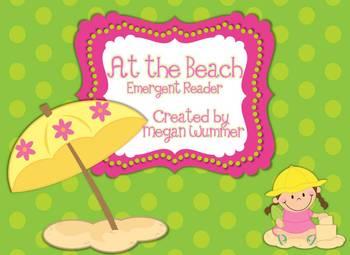 At the Beach Emergent Reader