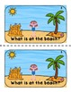 At the Beach {Emergent Reader Text}