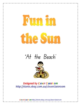 At the Beach - Fun in the Sun Ebook UNIT - 45 pages