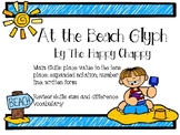 At the Beach Glyph for Place Value to Tens Place