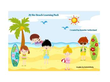 At the Beach Learning Pack 1