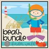 At the Beach Literacy Bundle