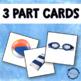 At the Beach Montessori 3 Part Cards