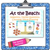 At the Beach: Negations, Yes/No Questions, Counting, & Vis
