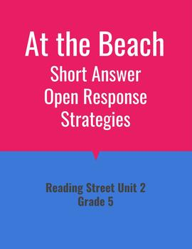 At the Beach Open Response Strategies (Reading Street 2011)