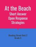 At the Beach Open Response Strategies (Reading Street 2011)