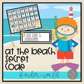 At the Beach Secret Code Literacy Center