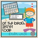 At the Beach Secret Code Literacy Center