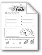 At the Beach (Thinking Skills)