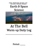 At the Bell Warm-up Booklet Vocabulary Daily Question