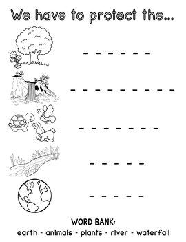 At the Country Park Worksheet