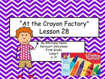 At the Crayon Factory Storytown Lesson 28