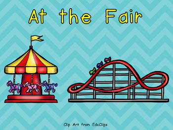 At the Fair (Carnival)- Nonfiction Shared Reading- Level C