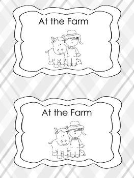 At the Farm- Book
