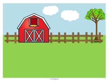 Farm Literacy Center Cut and Paste Creative Activity