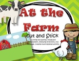Farm Literacy Center Cut and Paste Creative Activity