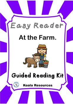 At the Farm Easy Reader Guided Reading Kit