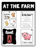 At the Farm: Level A Books & Assessment