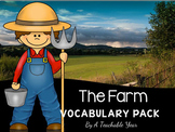 At the Farm- Vocabulary Pack