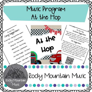 At the Hop Music Program