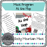 At the Hop Music Program