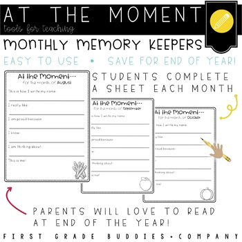 At the Moment: School Year Memory Keeper