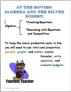At the Movies: Algebra and the Silver Screen