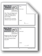 At the Movies (Grade 2 Daily Word Problems-Week 16)