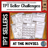 At the Movies TPT Seller Challenges