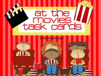 At the Movies! Task Cards on Time and Money