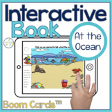 At the Ocean Interactive Book Boom Cards™️   Speech Therapy