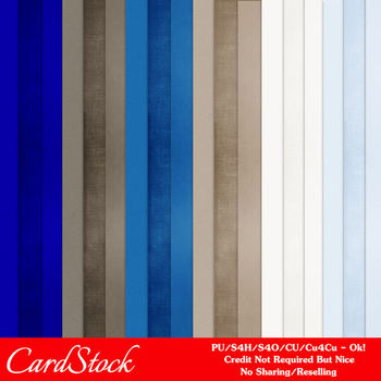 At the Office Cardstock Digital Papers A4 size
