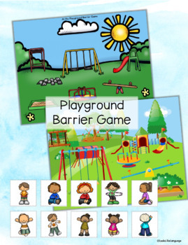 Adapted Books and PLAYGROUND Picture Activities with Social Rules