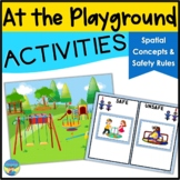 Spatial Concepts | Playground Activities | Safety Social R