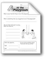 At the Playground (Thinking Skills)