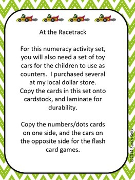 At the Racetrack: Numeracy
