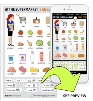 At the Supermarket > PDF + Interactive Lesson