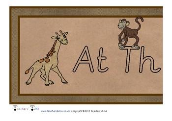 At the Zoo Display Banner